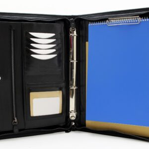 Professional business portfolio ring binder